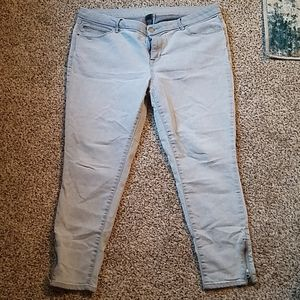Flattering skinny jeans!
